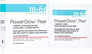 Best M-61 PowerGlow Peel- 10 Treatments- 1-minute, 1-step exfoliating glow peel with glycolic, vitamin K & chamomile Review