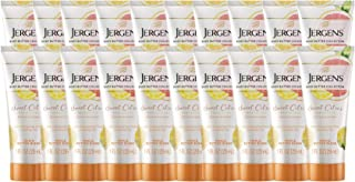 Jergens Sweet Citrus Body Butter Moisturizer, 20-pack, 1 Ounce Travel Lotion, with Essential Oil, for Indulgent Moisturiza...