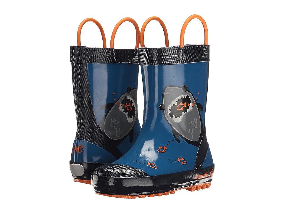 Kamik Kids Chomp (Toddler) (Blue) Boys Shoes