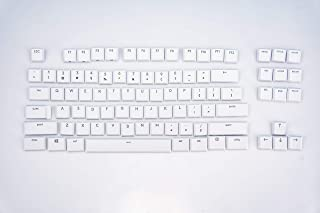 luo Suitable Logitech G915TKL G915 G815 Keyboard keycaps,Replacement Keycaps Mechanical Gaming Keyboard (White 87 Keys onl...
