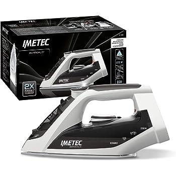 Imetec ZeroCalc Z1 2800 Ferro da Stiro con Tecnologia Anticalcare, Piastra Ceramica ad Alta Scorrevolezza, Tecnologia a Risparmio Energetico, 2200 W, Colpo Vapore 130 g