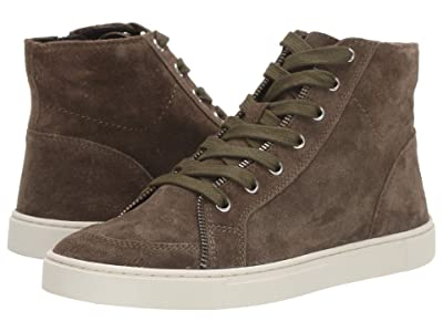 FRYE AND CO. Sindy Moto High (Fatigue Suede) Women