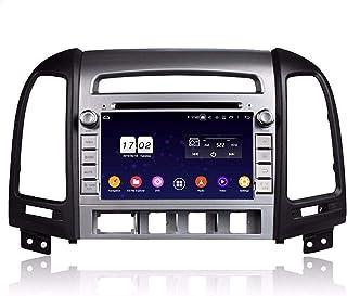 7 Inch TouchscreenAndroid 9.0 OS Car Radio Compatible with Hyundai Santa Fe(2006-2012), DVD Player Bluetooth DAB+ Radio He...