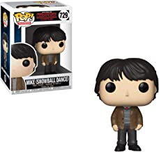 Funko Mike [Snowball Dance]: Stranger Things x POP! TV Vinyl Figure & 1 PET Plastic Graphical Protector Bundle [#729 / 35055 - B]
