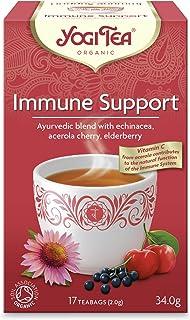 شاي يوغي تي لدعم المناعة، 17 كيس شاي، عبوة مكونة من قطعة واحدة