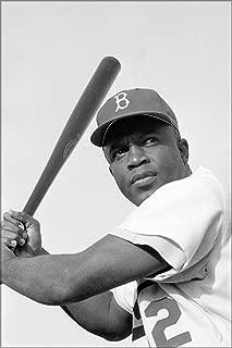 20x30 Poster; Jackie Robinson, Brooklyn Dodgers, 1954