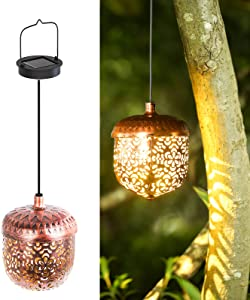 Outdoor Solar Street Light, Outdoor Solar Light Waterproof, Garden Solar Lights, Solar Garden Light Outdoor Decoration for Terrace, Patio, Parties, Weddings