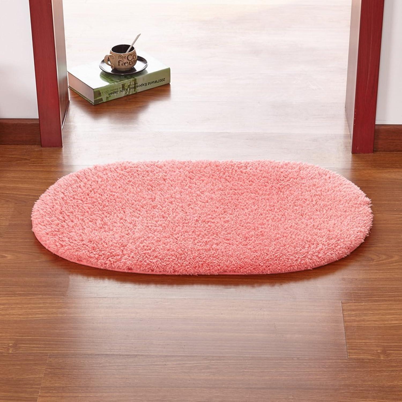 Doormats Kitchen Bathroom Water-Absorption Anti-Skid mat Bedroom Blanket for Bedroom -O 100x200cm(39x79inch)