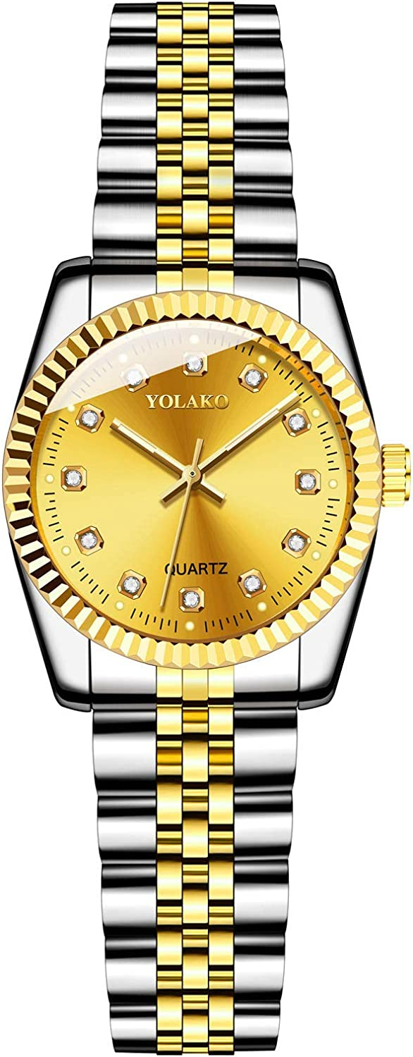 AxiBa Women Lady Dress Square Stainless Analog Watch free Quartz with Max 54% OFF