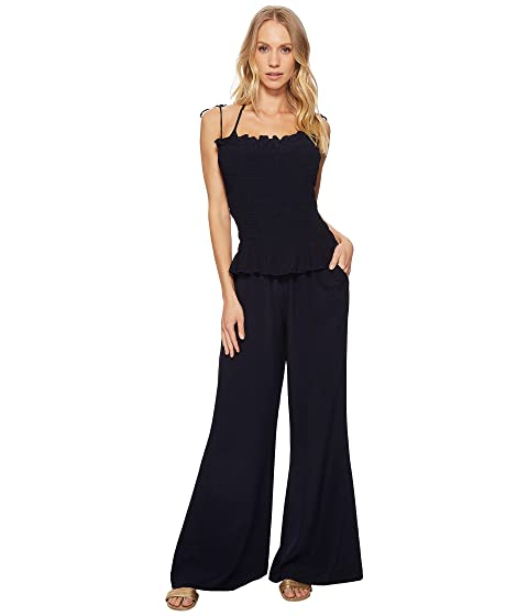 4f68d07a82 Tory Burch Swimwear Costa Jumpsuit Cover-Up at Zappos.com