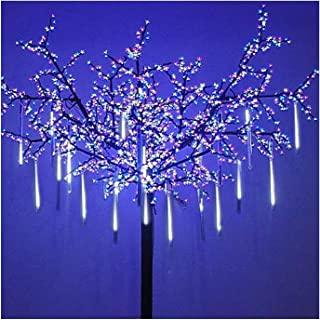 OMGAI LED Meteor Shower Rain Lights – Waterproof Drop Icicle Snow Falling Raindrop..