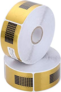 500 Pcs Nail Art Acrylic Nail/UV GEL Nail Extension Tips Form Guide Sticker