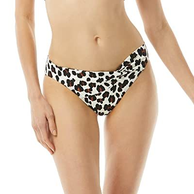 Kate Spade New York Fiji Feline Knotted Classic Bikini Bottoms