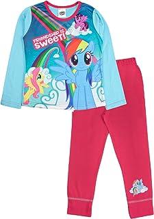 con motivo Frozen Pony Unicorn Pigiama a maniche lunghe per bambine e bambine abbigliamento da notte