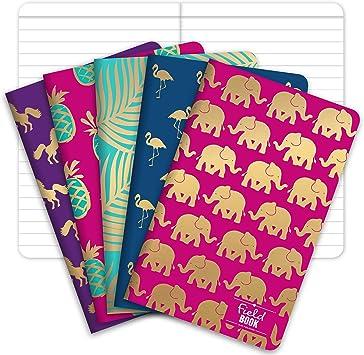 Field Notebook/Pocket Journal - Gold Foil Patterns