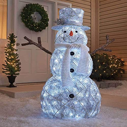 Outdoor Christmas Decor.Outdoor Snowman Decorations Lighted Amazon Com