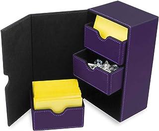 BCW Deck Vault LX 200 Deck Box – Purple
