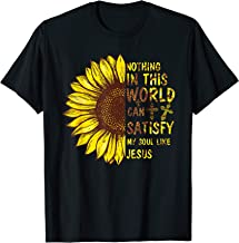 Nothing In This World Can Satisfy My Soul Like Jesus T-Shirt