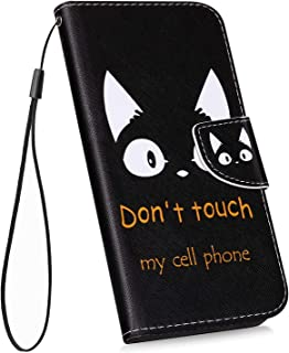 DENDICO Coque Galaxy A70 Housse /à Rabat Clapet pour Samsung Galaxy A70 Noir Mince Portefeuille Premium en Cuir avec Socle Rabattable avec Fentes pour Cartes de cr/édit