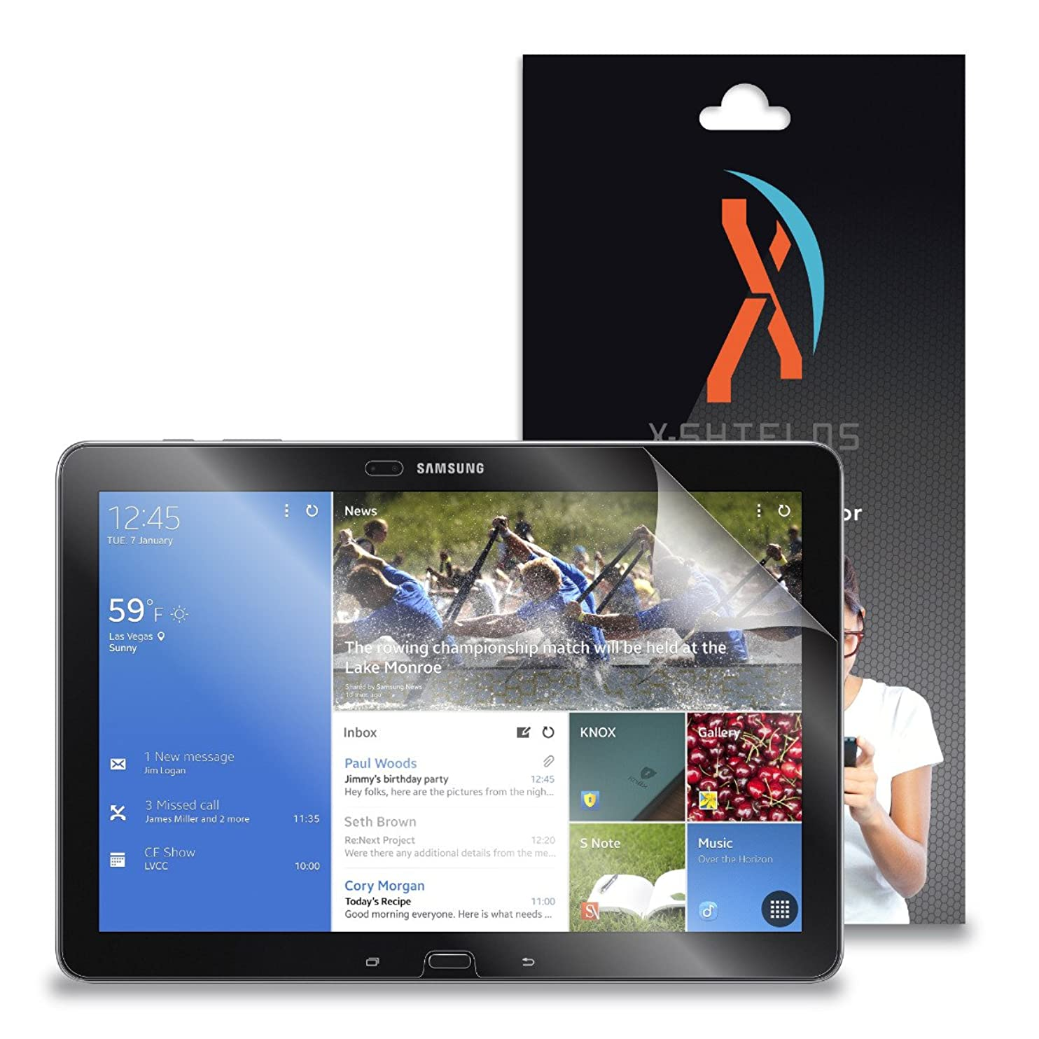 XShields? (4-Pack) Screen Protectors for Samsung Galaxy Tab Pro 12.2