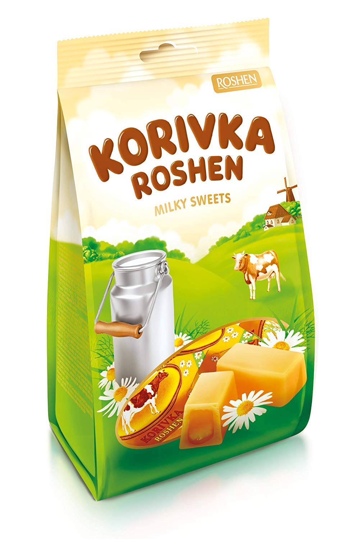 Washington Mall Roshen Korovka Fudge Candy Korivka Excellence Cow Pack 7.23oz 205g