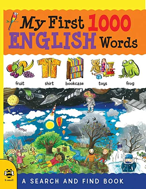My First 1000 English Words: A Search and Find Book