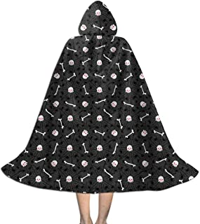 Deadly Cobwebs Hooded Cape for Kids | Children's Cloak with Hood for Halloween, Costumes,Cosplay,Christmas