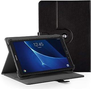 EasyAcc Funda Universal Tablet 10 Pulgadas 360 Grados Rotación para BEISTA LNMBBS MEBERRY TECLAST KXD Broken- jom Huashetrade ZONMAI CHUWI Hi10 X Dragon Touch Max10 Tablet 10 Pulgadas, Negro