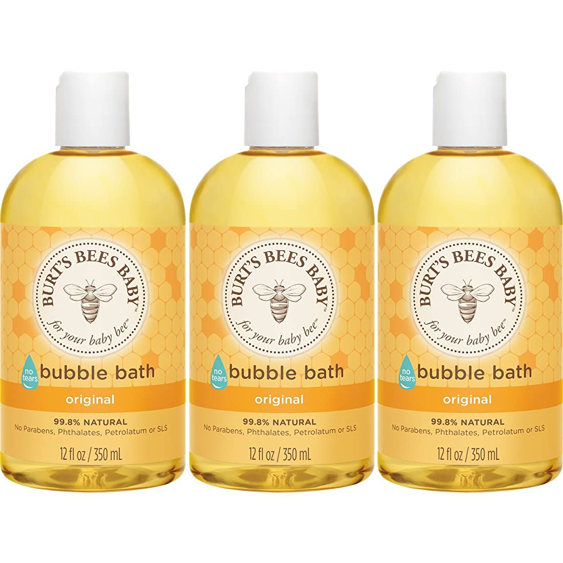 ささやき費やす祖先Burt's Bees Baby Bubble Bath, 12 Ounces (Pack of 3) (Packaging May Vary) by Burt's Bees