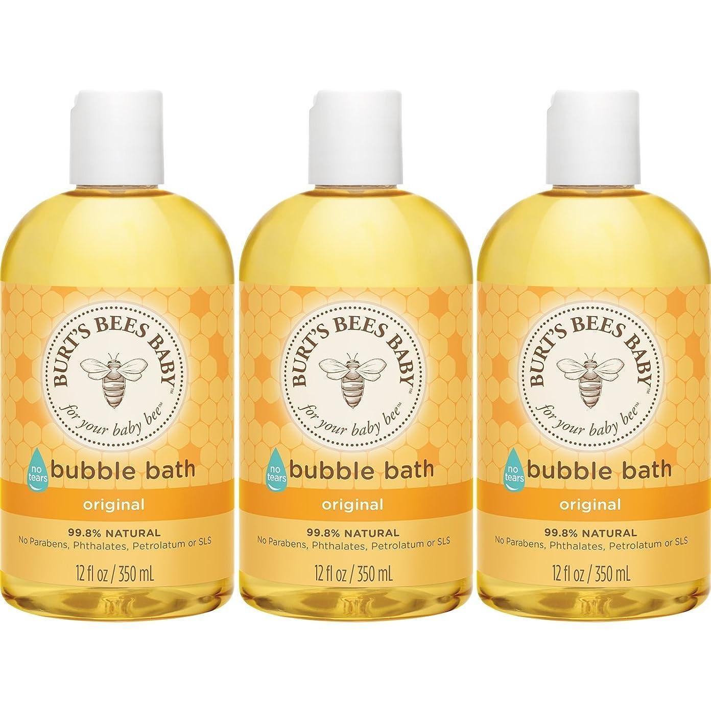 ハウジングあいまいな全国Burt's Bees Baby Bubble Bath, 12 Ounces (Pack of 3) (Packaging May Vary) by Burt's Bees