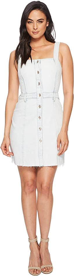 7 For All Mankind - Button Front Dress in Desert Sun Bleached 1