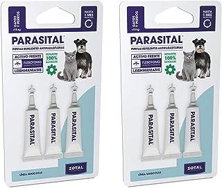 Parasital Pipetas Antiparasitarias para Perros Pequeños y
