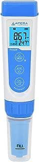 Apera Instruments AI312 PH60F Premium pH Pocket Tester with Replaceable Flat Sensor, for Skin, Fabrics, Paper's pH Testing, ±0.01 pH Accuracy, -2.00-16.00 pH Range