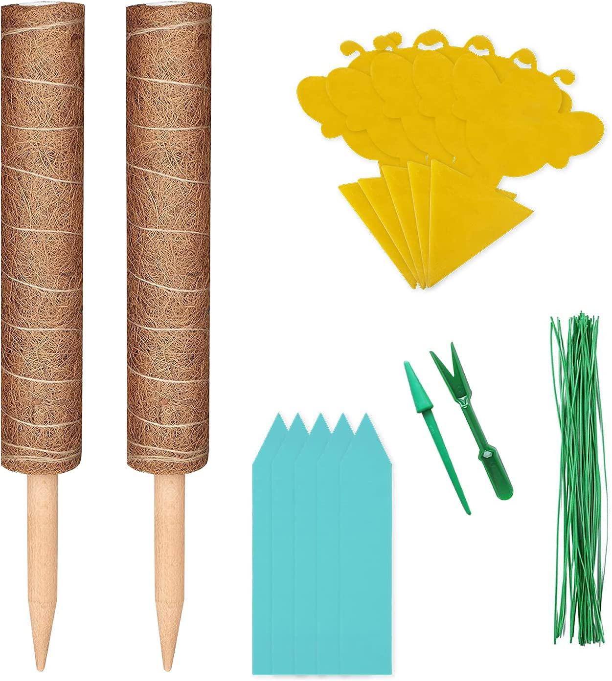 BE-LAIV Moss Pole Ranking TOP9 for Plants Monstera 35% OFF Inch Coir Totem 26.4 Pla -