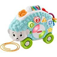 Fisher-Price Linkimals Happy Shapes Hedgehog - Interactive Educational Toy with Music and Lights...