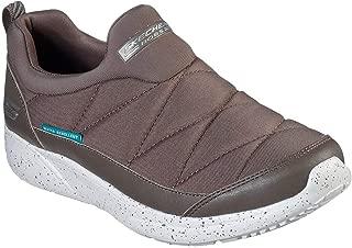Skechers Women's BOBS Sport Sparrow - Dewy Days Slip On Sneaker, Taupe, 9.5