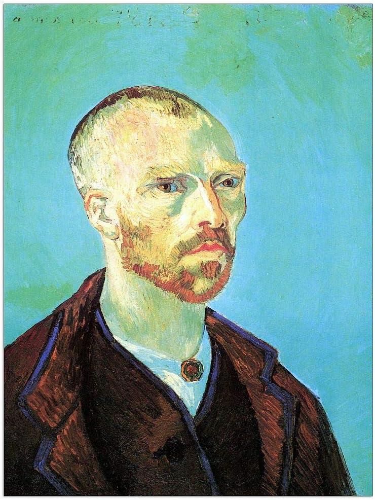 ArtPlaza Van OFFicial Gogh Vincent 55% OFF - Dedicated to Gaug Self-Portrait Paul