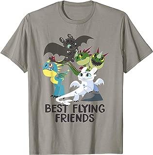 How to Train Your Dragon 3 Hidden World Best Friends T-shirt