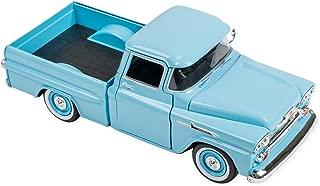 1958 Chevy Apache Fleetside Truck 8.5 Inch Replica Die Cast Toy, Blue