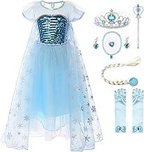 Amazon.es: Vestido Elsa Frozen
