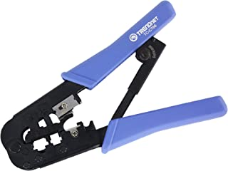 TRENDnet Crimping Tool, 8P/Rj-45 & 6P/Rj-12, Rj-11 Crimp, Cut, & Strip Tool,..