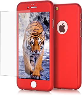 iPhone 6/ 6S Plus case, VPR 2 in 1 Ultra Thin Full Body Protection Hard Premium Luxury Cover [Slim Fit] Shock Absorption Skid-proof PC case for Apple iPhone 6/ 6S Plus (5.5 inch) (Red)