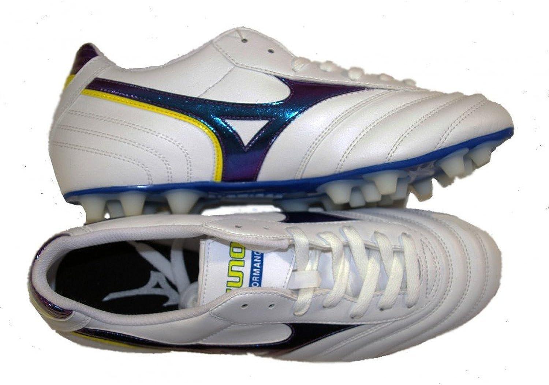 Mizuno Men's Football Boots White White bluee