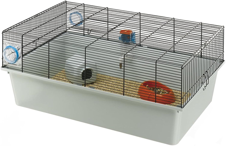 Ferplast Kios Mouse Cage, 70 x 47 x 28 cm, Grey