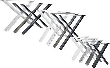 Natural Goods Berlin Tafelonderstellen, X-FORM design, metalen tafelpoten, scandic, loft tafelframe van staal, tafelonders...