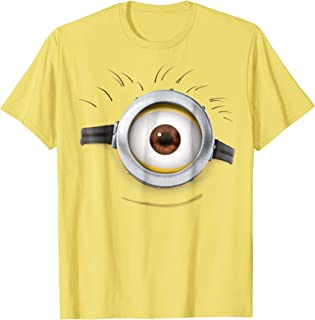 Despicable Me Minions Carl Side Smile Graphic T-Shirt