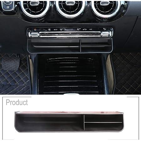Schwarze Auto Organizer Box Für Benz B Klasse W247 2019 2020 Abs Mittelkonsole Aufbewahrung Zubehör Auto