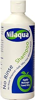 No Rinse Waterless Nilaqua Shampoo 500ml - No Water Needed!