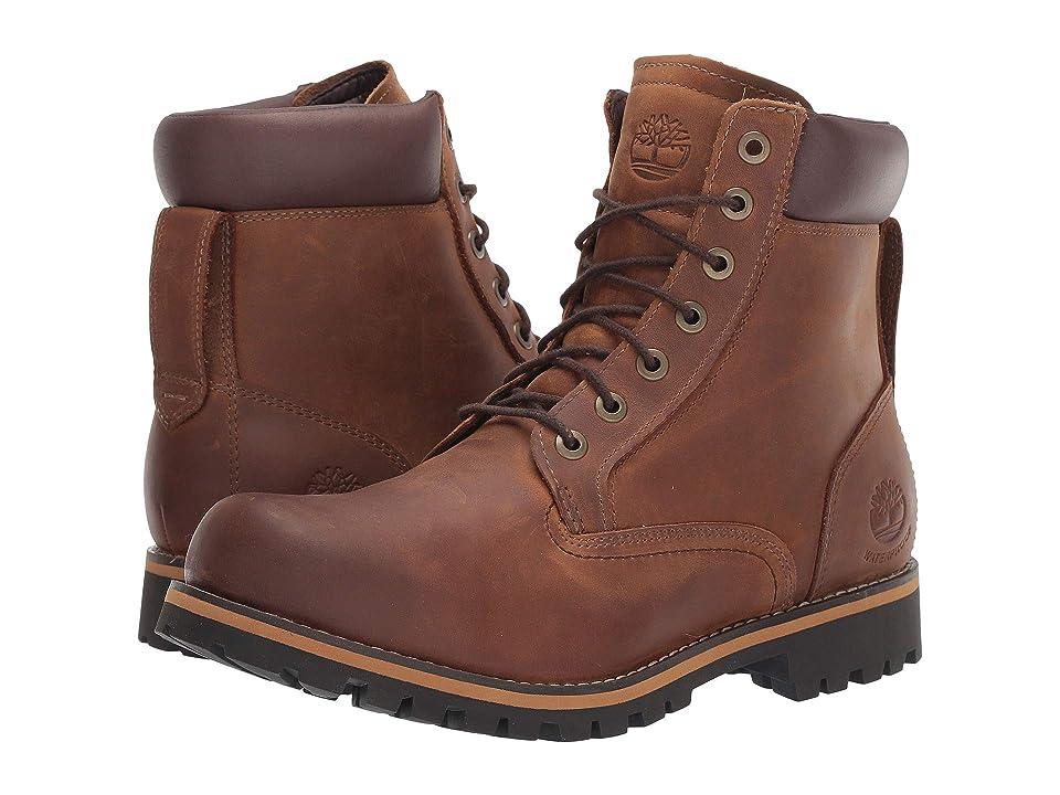 Timberland Earthkeepers(r) Rugged 6 Boot (Medium Brown Full Grain) Men