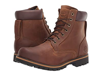Timberland Earthkeepers(r) Rugged 6 Boot (Medium Brown Full Grain) Men